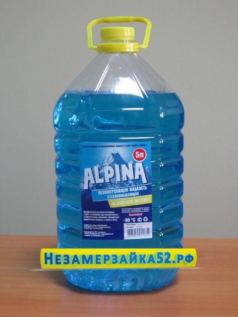 Незамерзающая жидкость ALPINA